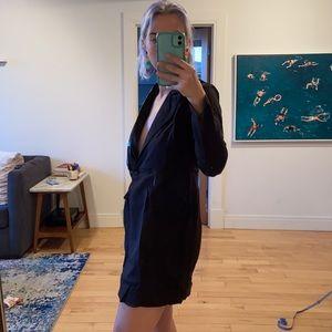 Vintage little black dress / blazer dress